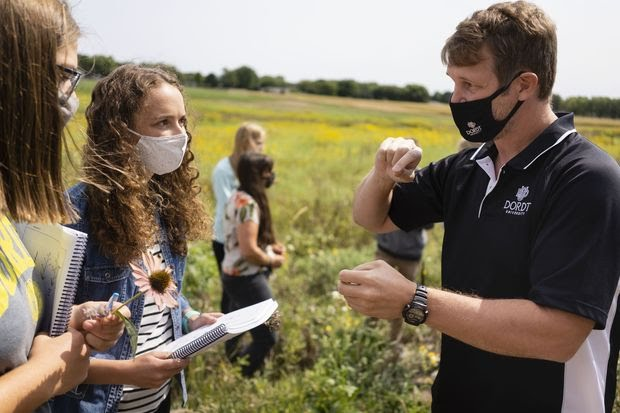 Dordt University was No. 1 for student engagement in the WSJ/THE College Rankings.