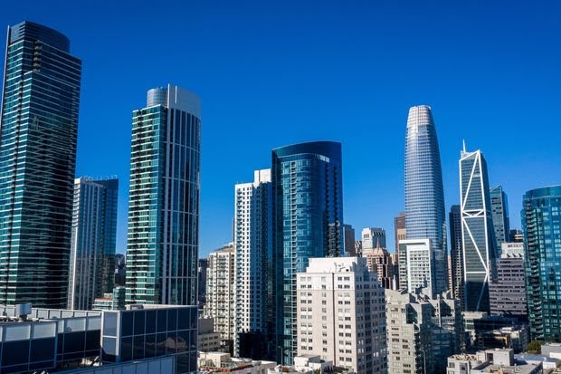 San Francisco's financial district is part of a region lagging behind all other U.S. regions with a 13.4% return-to-the-office rate as of Nov. 18.