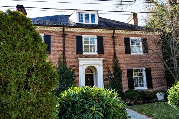 Coe Magruder's Massachusetts Avenue Heights home sold for $4 million last year before he could put it on the market.