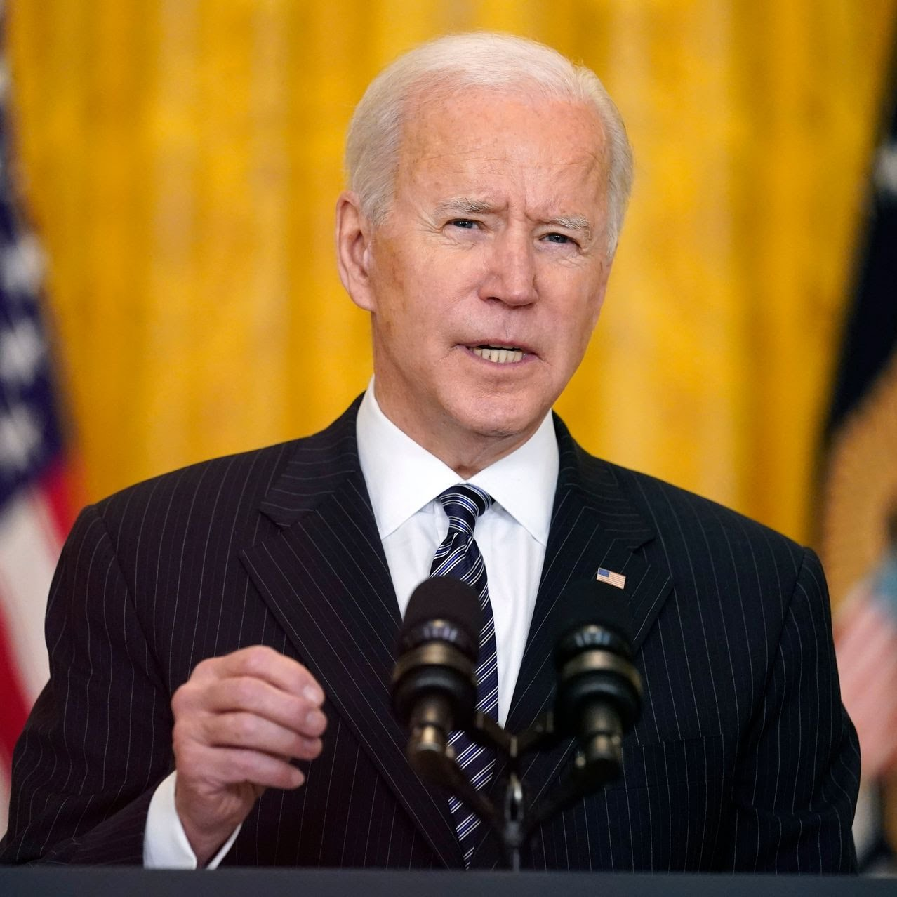 President Biden in the White House on March 18.
