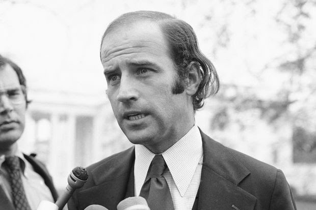 Joe Biden was first elected to the Senate from Delaware in 1972 after a campaign in which he cast himself as attuned to the needs of the working class.