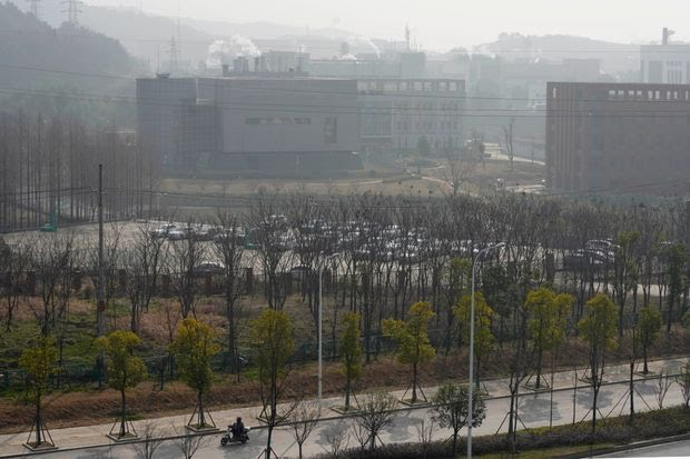 The Wuhan Institute of Virology in China's Hubei province on Feb. 3.